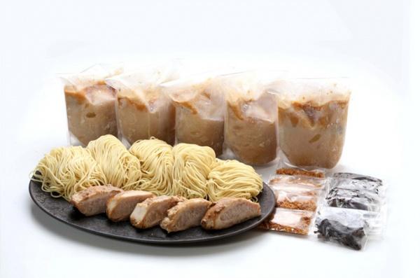豚とろ5食セット